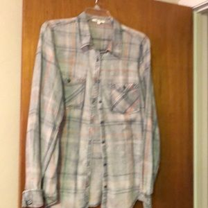 Plaid L/S shirt